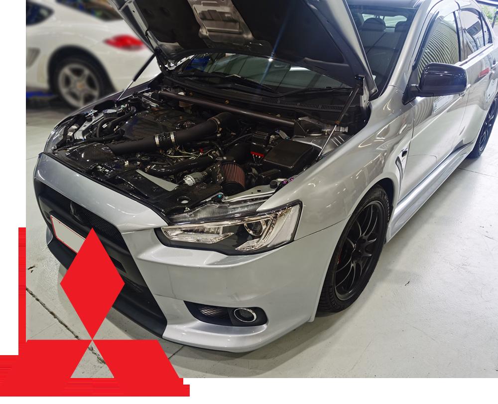 Mitsubishi Engine & SST Transmission Servicing Auckland